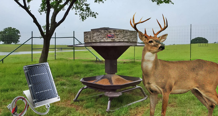 Solar Panel for Deer Feeder Reviews